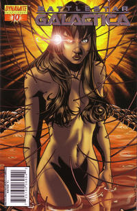 Cover Thumbnail for Battlestar Galactica (Dynamite Entertainment, 2006 series) #10 [Cylon Foil Edition]