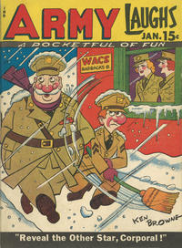Cover Thumbnail for Army Laughs (Prize, 1941 series) #v3#10