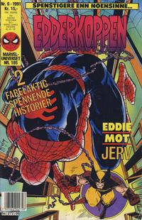 Cover Thumbnail for Edderkoppen (Semic, 1984 series) #6/1991