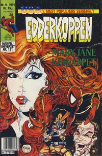 Cover Thumbnail for Edderkoppen (Semic, 1984 series) #9/1991