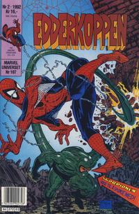 Cover Thumbnail for Edderkoppen (Semic, 1984 series) #2/1992
