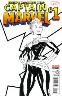 Cover Thumbnail for Captain Marvel (Marvel, 2012 series) #1 [2nd Print Variant]