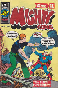 Cover Thumbnail for Mighty Comic (K. G. Murray, 1960 series) #114