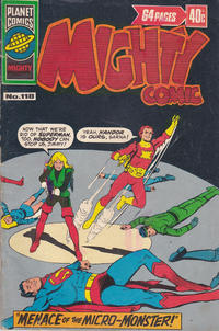 Cover Thumbnail for Mighty Comic (K. G. Murray, 1960 series) #118