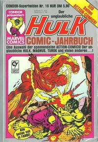 Cover Thumbnail for Condor Superhelden Taschenbuch (Condor, 1978 series) #16 [a]