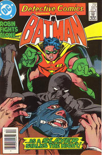 Cover Thumbnail for Detective Comics (DC, 1937 series) #557 [Newsstand]