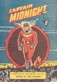 Cover Thumbnail for Captain Midnight (Cleland, 1953 series) #2