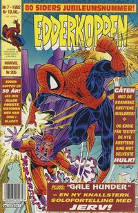 Cover for Edderkoppen (Semic, 1984 series) #7/1992