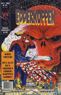 Cover Thumbnail for Edderkoppen (Semic, 1984 series) #5/1992