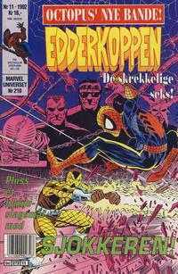 Cover Thumbnail for Edderkoppen (Semic, 1984 series) #11/1992