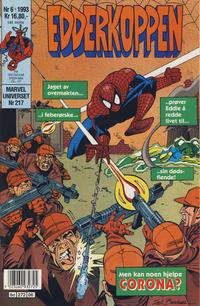 Cover Thumbnail for Edderkoppen (Semic, 1984 series) #6/1993