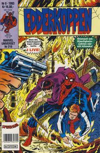 Cover Thumbnail for Edderkoppen (Semic, 1984 series) #8/1993