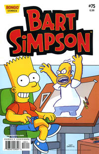 Cover Thumbnail for Simpsons Comics Presents Bart Simpson (Bongo, 2000 series) #75