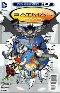 Cover Thumbnail for Batman Incorporated (DC, 2012 series) #0 [Chris Burnham Cover]