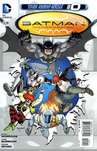 Cover Thumbnail for Batman Incorporated (DC, 2012 series) #0 [Chris Burnham Cover]