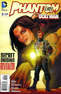 Cover Thumbnail for Phantom Lady (DC, 2012 series) #2