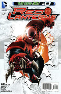Cover Thumbnail for Red Lanterns (DC, 2011 series) #0