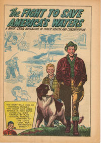 Cover Thumbnail for The Fight to Save America's Waters: A Mark Trail Adventure in Public Health and Conservation (Hall Syndicate, 1956 series) #[nn]