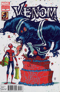Cover Thumbnail for Venom (Marvel, 2011 series) #24 [Skottie Young Amazing Spider-Man 50th Anniversary Variant Cover]