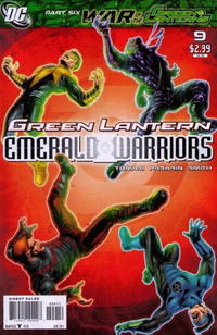 Cover Thumbnail for Green Lantern: Emerald Warriors (DC, 2010 series) #9 [2nd Printing]