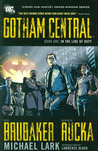 Cover Thumbnail for Gotham Central (DC, 2011 series) #1 - In the Line of Duty