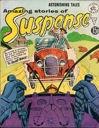 Cover Thumbnail for Amazing Stories of Suspense (Alan Class, 1963 series) #157