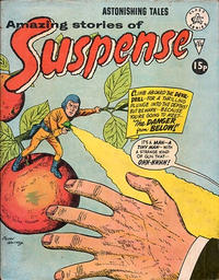 Cover Thumbnail for Amazing Stories of Suspense (Alan Class, 1963 series) #155