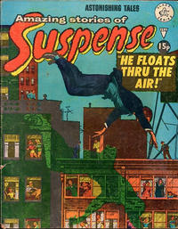 Cover Thumbnail for Amazing Stories of Suspense (Alan Class, 1963 series) #154