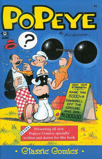 Cover Thumbnail for Classic Popeye (IDW, 2012 series) #1