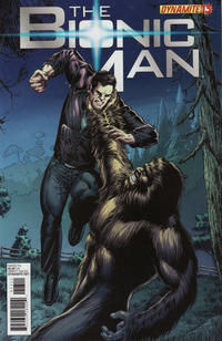 Cover Thumbnail for Bionic Man (Dynamite Entertainment, 2011 series) #13 [Cover B (1-in-10) Ed Tadeo]