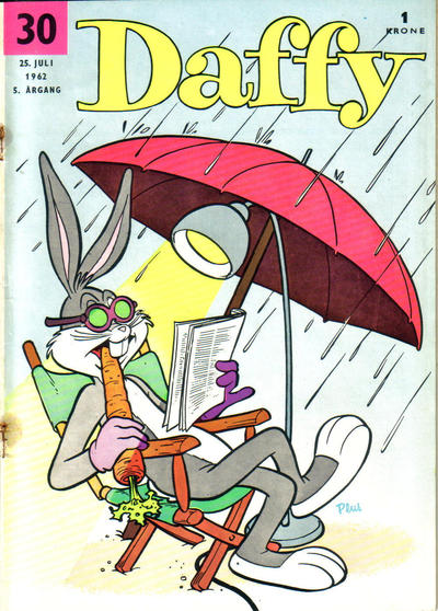Cover for Daffy (Allers Forlag, 1959 series) #30/1962