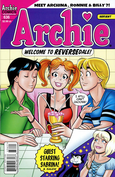 Cover for Archie (Archie, 1959 series) #636