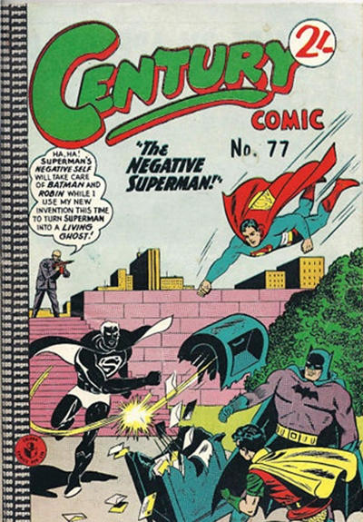 Cover for Century Comic (K. G. Murray, 1961 series) #77