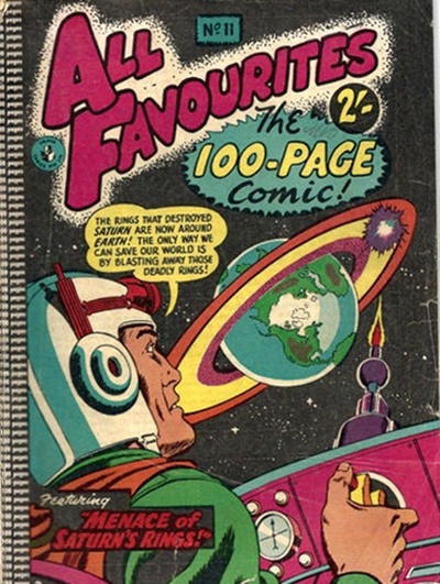 Cover for All Favourites, The 100-Page Comic (K. G. Murray, 1957 ? series) #11