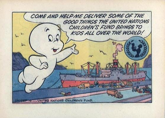 Cover for Casper (UNICEF Promotional) (Harvey, 1973 series)