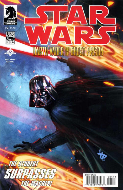 Cover for Star Wars: Darth Vader and the Ghost Prison (Dark Horse, 2012 series) #5