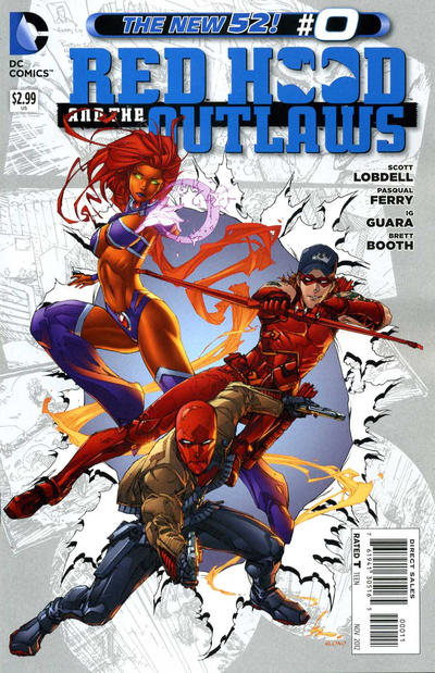 Cover for Red Hood and the Outlaws (DC, 2011 series) #0