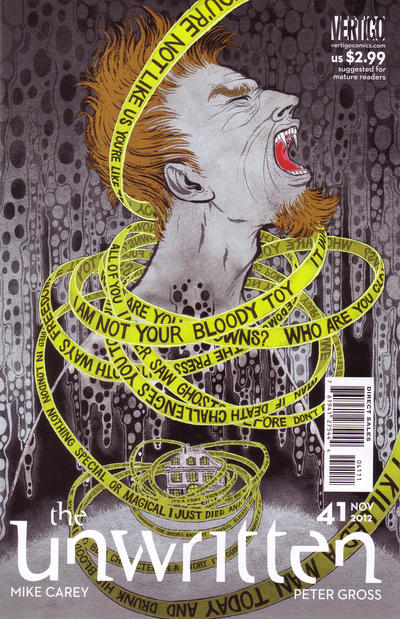 Cover for The Unwritten (DC, 2009 series) #41