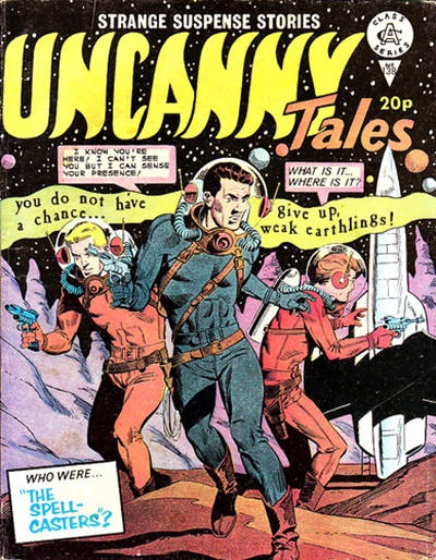 Cover for Uncanny Tales (Alan Class, 1963 series) #138