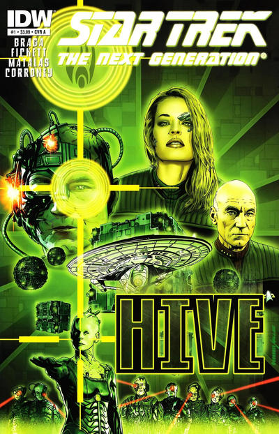 Cover for Star Trek TNG: Hive (IDW, 2012 series) #1 [Retailer Incentive Cover A - David Messina]