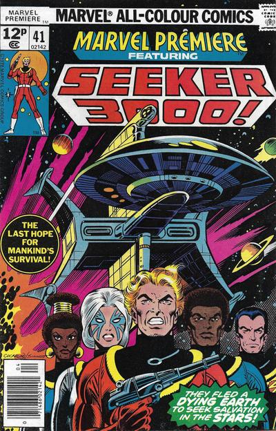 Cover for Marvel Premiere (Marvel, 1972 series) #41 [Regular Edition]