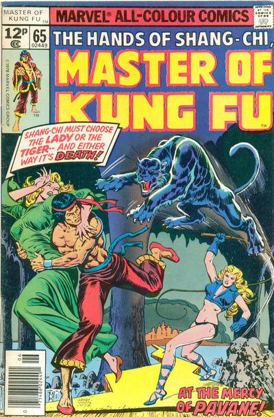 Cover for Master of Kung Fu (Marvel, 1974 series) #65
