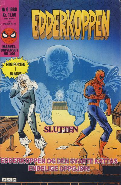 Cover for Edderkoppen (Semic, 1984 series) #6/1988