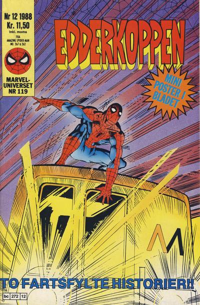 Cover for Edderkoppen (Semic, 1984 series) #12/1988
