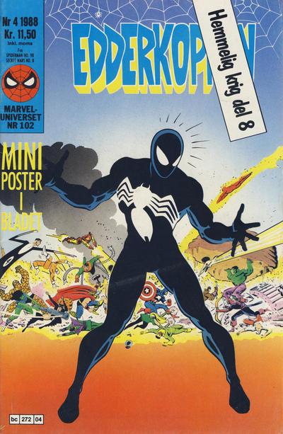 Cover for Edderkoppen (Semic, 1984 series) #4/1988