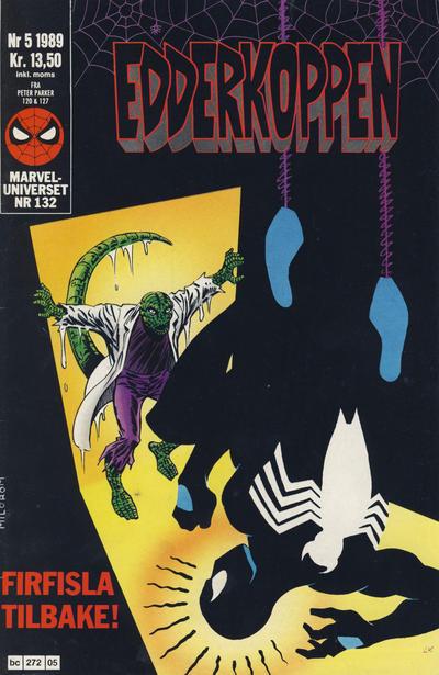Cover for Edderkoppen (Semic, 1984 series) #5/1989