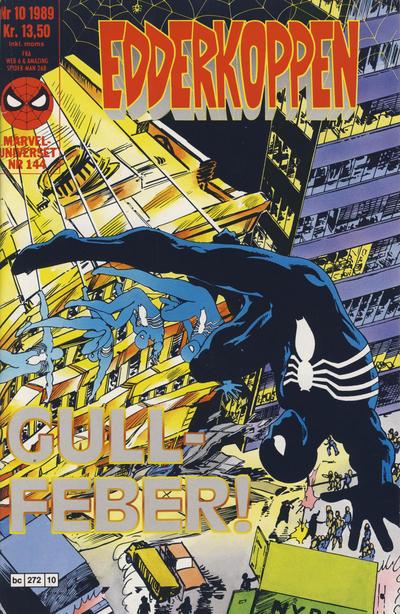 Cover for Edderkoppen (Semic, 1984 series) #10/1989