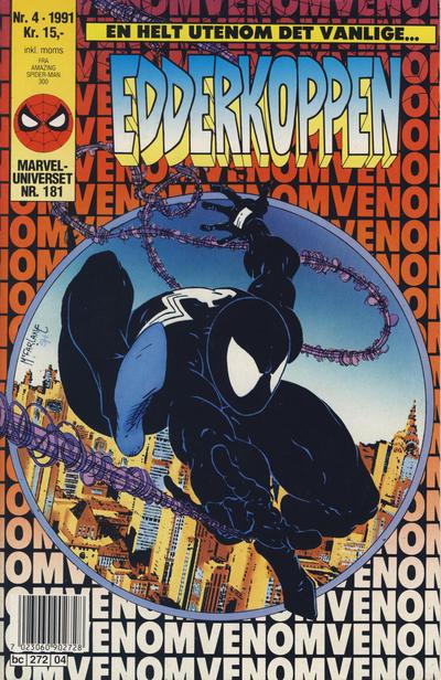 Cover for Edderkoppen (Semic, 1984 series) #4/1991
