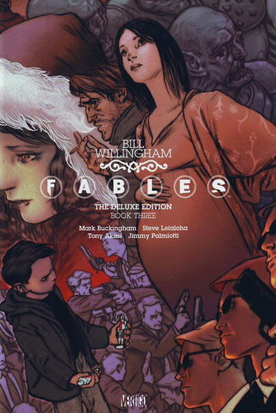 Cover for Fables: The Deluxe Edition (DC, 2009 series) #3