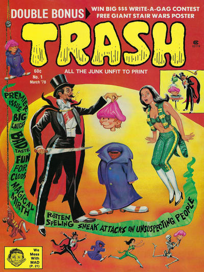 Cover for Trash Magazine (Trash Publishing Co., Inc., 1978 series) #1